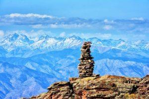 上高地から登山したらこんな感じ