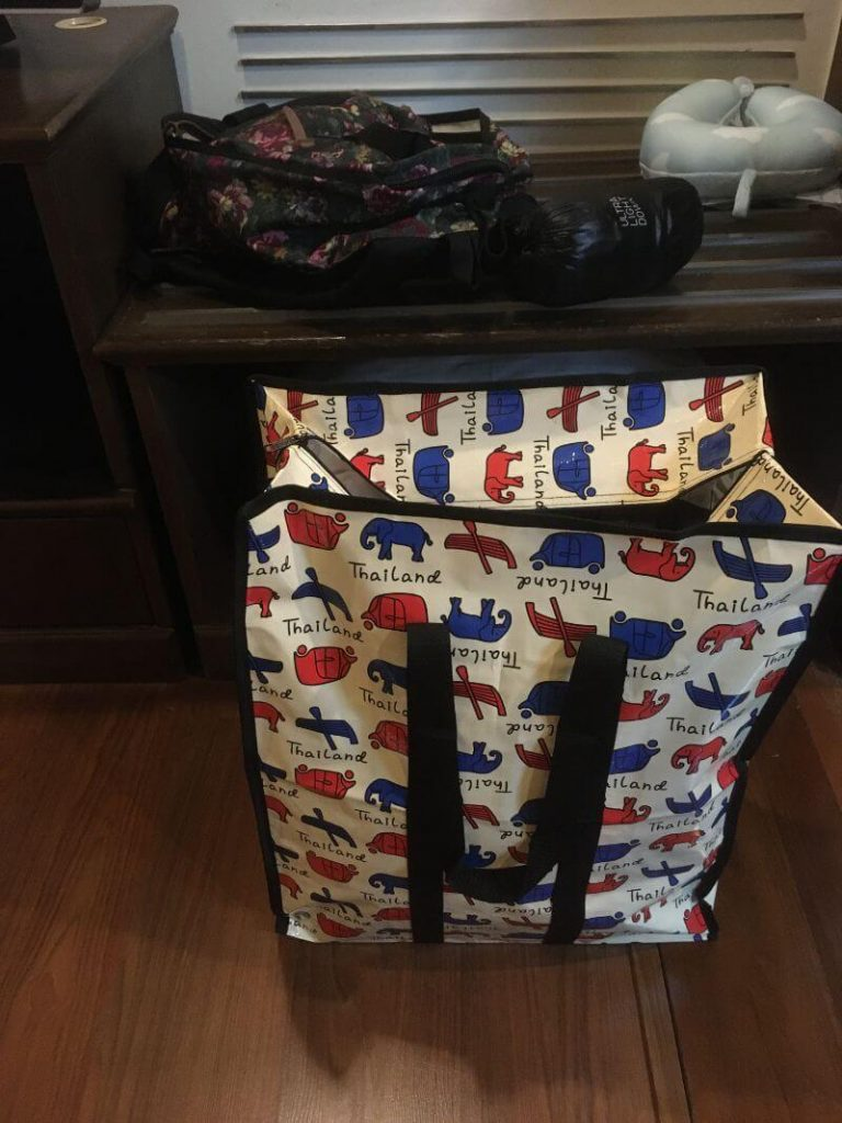 タイのビニールバッグ