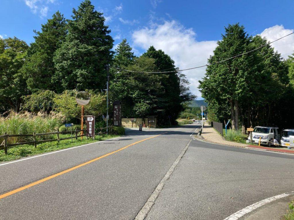 箱根・仙石原すすきの無料駐車場への行き方
